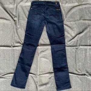 """7 For All Mankind with 34"""" inseam and stretch"""